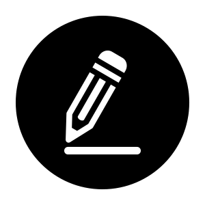 Icon showing video production editing