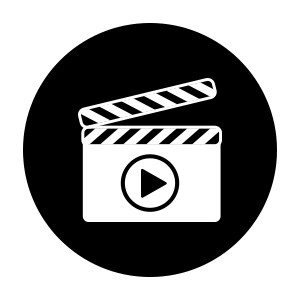 icon showing service of video Prodcution