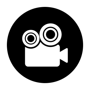 icon showing service of video production